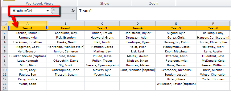 how to set up a colum that deducts in excel