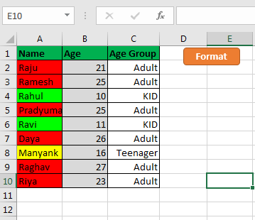 Conditional Formatting using VBA in Microsoft Excel