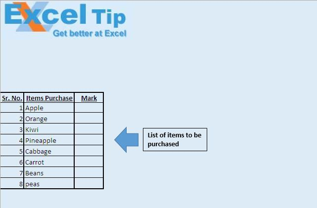 Double Click To Addremove Tick Microsoft Excel Tips From Excel