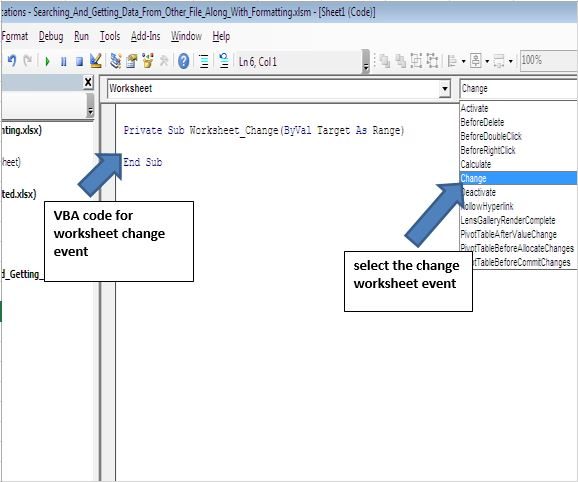 Searching and getting value from external workbook based on certain ...