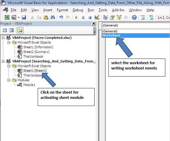 Se Ing And Getting Value From External Workbook Based On Certain. Worksheet. Activate Worksheet Vba At Mspartners.co
