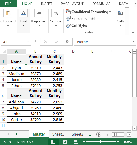 Excel formulas are the