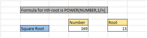 Square Root And Cube Root In Microsoft Excel 2010 Other Q A Formulas
