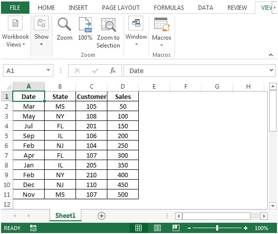 Drawing Lines Between Cells In Excel : Drawing lines between sorted groups in microsoft excel