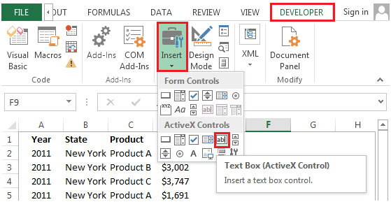 Drawing Lines In Userform : Preventing the printing of objects in microsoft excel