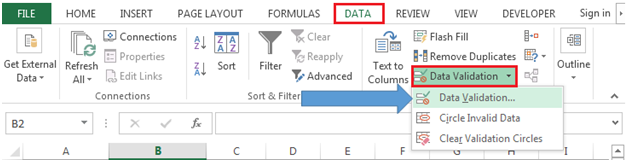 how to make only text appear in excel