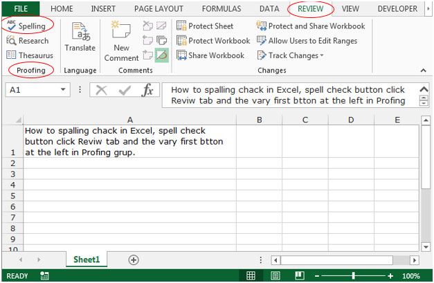 proofing in excel 2010 microsoft excel tips from excel tip com excel tutorial free. Black Bedroom Furniture Sets. Home Design Ideas