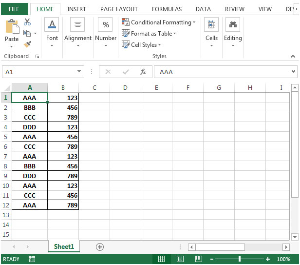 Excel Vba Hide Column Letters And Row Numbers