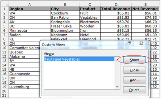How to Save Filter Criteria in Microsoft Excel