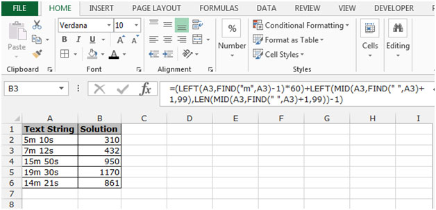 This Is The Way We Can Convert Text That Represents Minutes And Seconds Into Numerical Values In Microsoft Excel