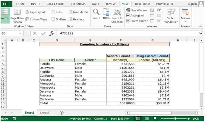 How To Use Custom Formatting In Excel Excel Format