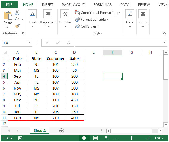 Drawing Lines In Excel : Drawing lines between sorted groups in microsoft excel