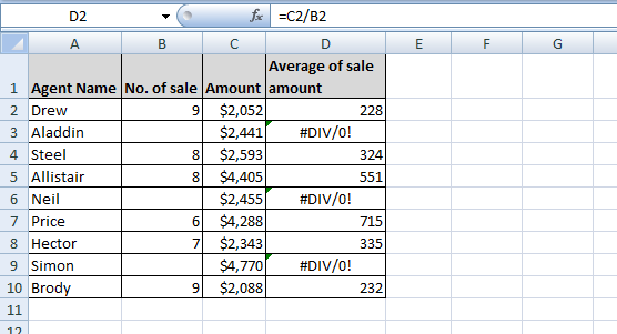 how to use the iferror function in excel
