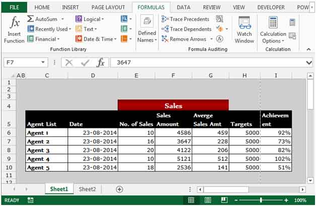 Displaying Formula Syntax in Excel 2007 | Other Q&A Formulas