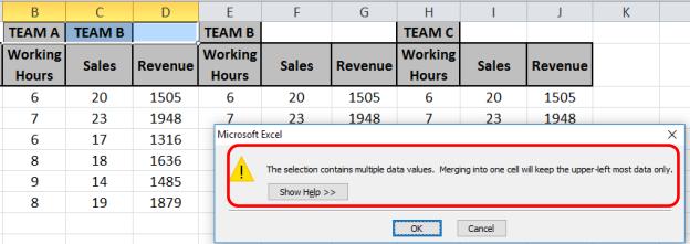Excel Shortcut Keys for Merge and Center| Excel Tips