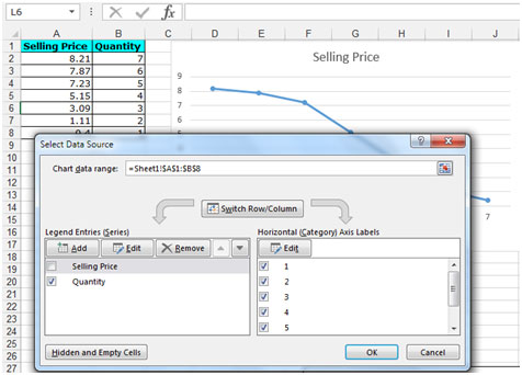 how to change axis range in excel 2013