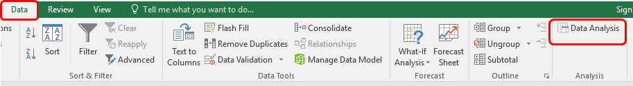 Descriptive Statistics in Microsoft Excel 2016