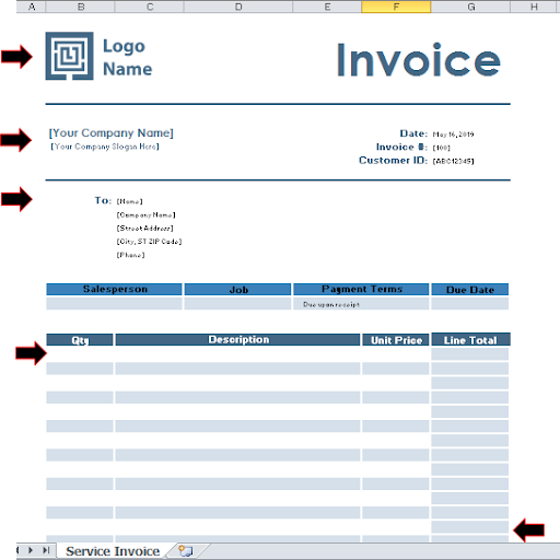 Purchase Order in Microsoft Excel | PO Template Excel