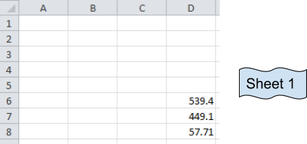 Sum Across Multiple Sheets in Microsoft Excel | | Microsoft Excel