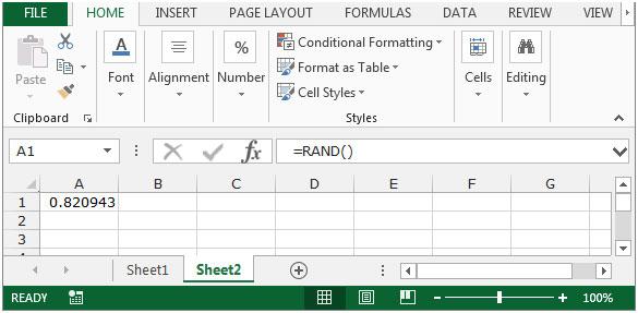 How to Generate Random Phone Numbers in Microsoft Excel 2010