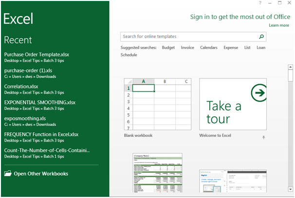 In The Search Tab Search Purchase Order Template, Excel Will Search So Many Purchase  Order Templates.  Microsoft Excel Purchase Order Template