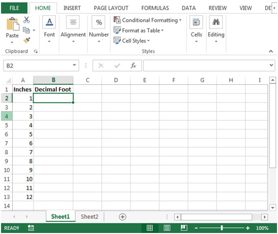 Add binary numbers in excel
