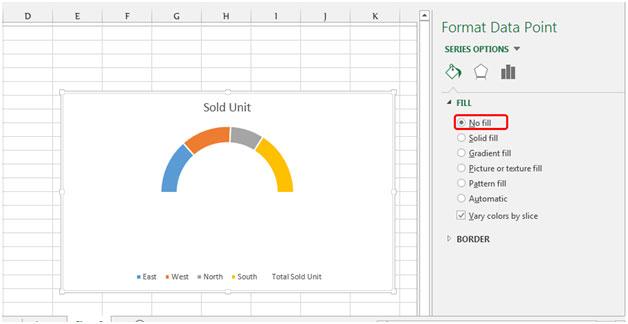 Gauge Chart in Microsoft Excel