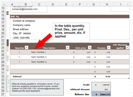 After Filling The Purchase Order Template You Will Get The Final Amount And  A Template Is Already Having All Required Formulas It Will Calculate All  The ...  Excel Po Template
