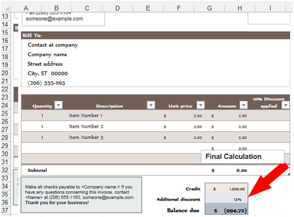 Purchase Order in Microsoft Excel – Purchase Order Format in Excel