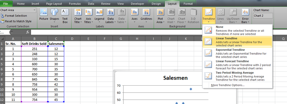 Regression Analysis In Microsoft Excel