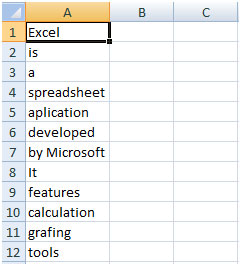 automatic spell checker in microsoft excel 2010 microsoft excel tips from excel tip com. Black Bedroom Furniture Sets. Home Design Ideas