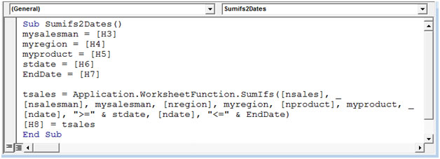 How to use sumifs between two dates using vba in microsoft excel tips img11 ibookread Read Online