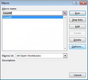 How to Use Countif in VBA in Microsoft Excel