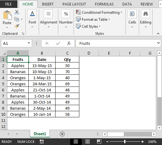 Excel sumif after a certain date