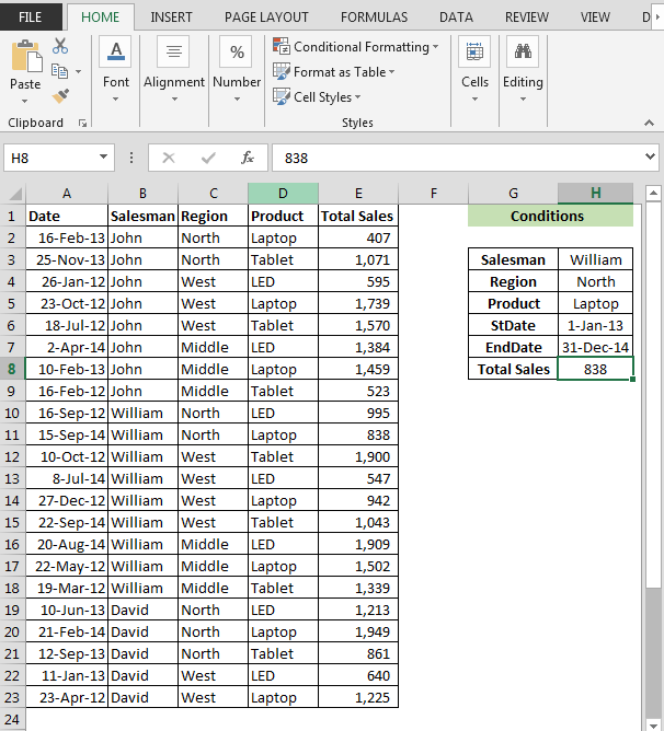 Sumif function with multiple criteria using vba in microsoft excel img15 ibookread Read Online