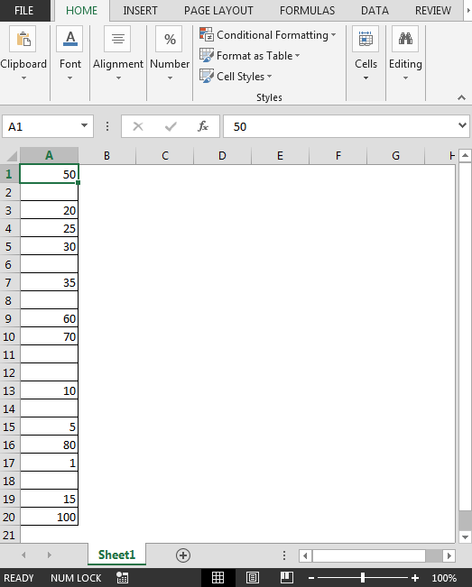 How to auto populate date in excel