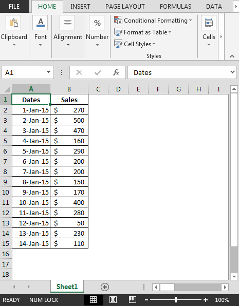 how to select latest date from pivot table using vba in
