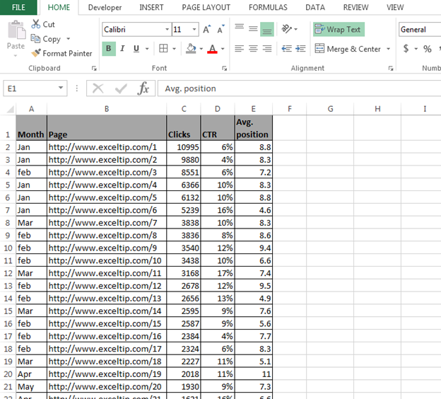 How to Filter the Data in Excel using VBA