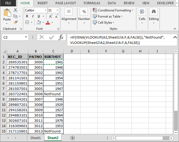How To Use If Isna And Vlookup Function In Excel Microsoft. Worksheet. Worksheetfunction Vlookup Isna At Clickcart.co