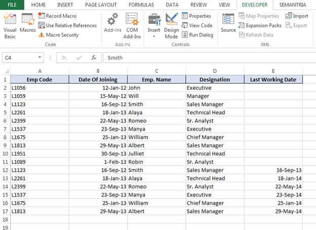 how to track one variable in excel but leave another