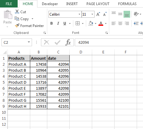 How to format date through VBA