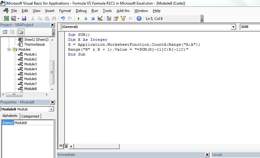 Formula Vs R1c1 In Microsoft Excel. Worksheet. Worksheetfunction Vs Application At Mspartners.co
