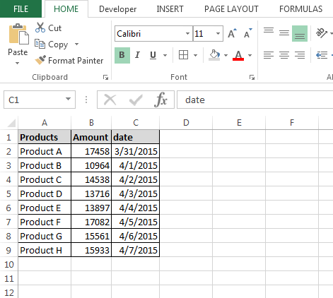 how to cancel date format in excel