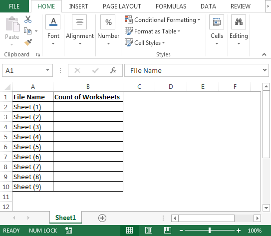 Count Worksheets In Multiple Files |