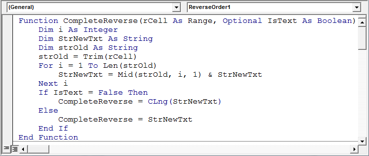 How To Get Text Number In Reverse Through Vba Microsoft Excel. Worksheet. Worksheetfunction Trim Vba At Clickcart.co