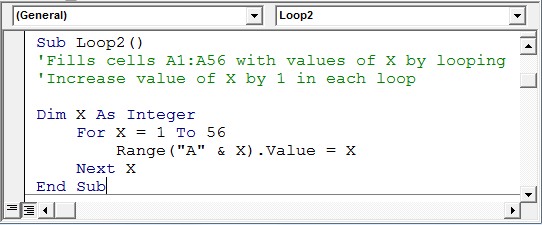 7 Examples of For Loops in Microsoft Excel VBA