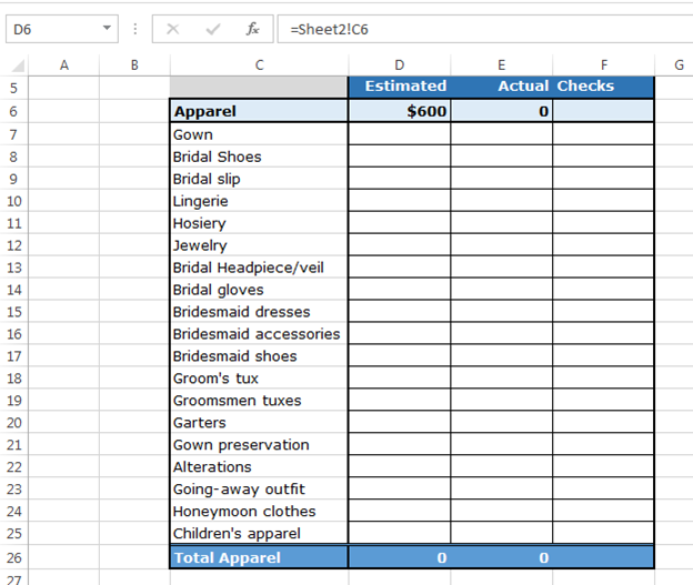 How to Use Checkboxes to Create Checklist Template in Excel ...