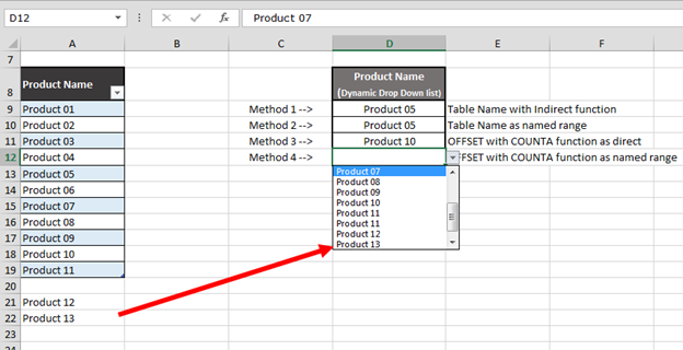Writing To A Range Using VBA