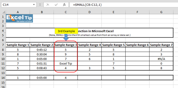 excel statistical functions ignore blank cells excel