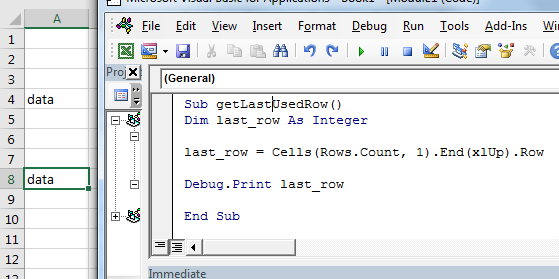 3 Best Ways to Find Last non-blank Row and Column Using VBA